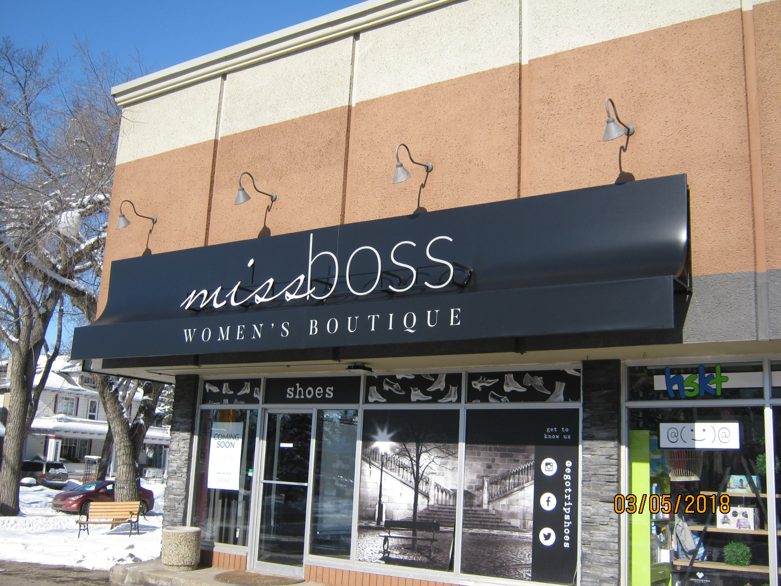 Protective Building Awnings Edmonton | Commercial Awnings ...